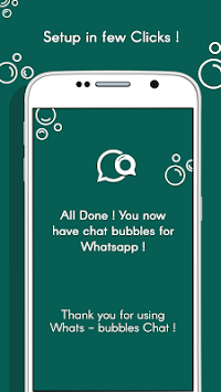 download whats bubble chat apk latest version app for android devices