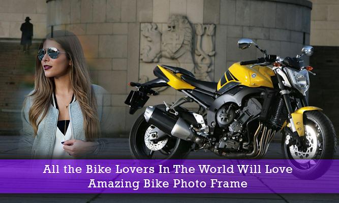 Bike Photo Frames - screenshot