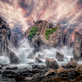 Sea Monster by Jimmy Kohar - Landscapes Caves & Formations