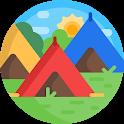캠핑 올인원 - 음악, 랜턴, 캠핑용품, 캠핑식품 캠핑의 모든것 icon