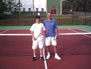 Photo: Torneo de Tenis Vila de Negreira 2009. Finalistas grupo A