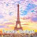 Paris Wallpaper Parisian Twilight Theme icon