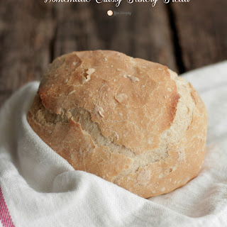 Homemade Crusty Bakery Bread Recipe