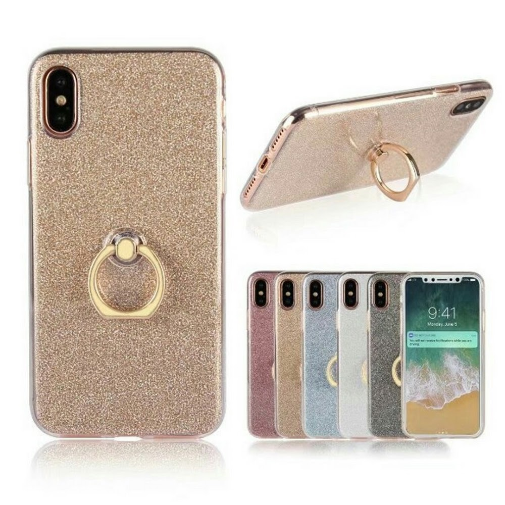 iphonecase with finger ring stand soft case