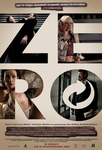 Polski plakat filmu 'Zero'