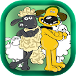 how to draw sheep cute shaun