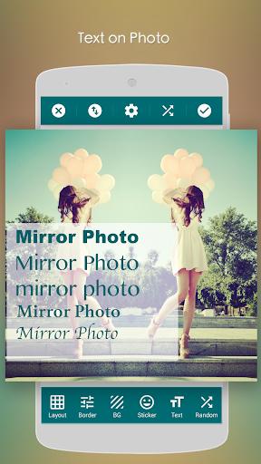 Mirror Photo:Editor&Collage (HD) screenshot 7