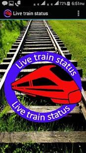 Live train status free - náhled
