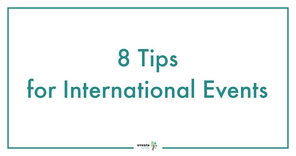 EventsbyLany - InternationalEvents