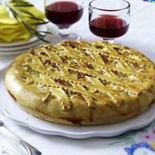 Torta rustica alla pugliese (Bauerntorte aus Apulien)