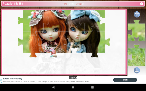Cute And Beautifull Doll Game Puzzle android2mod screenshots 17