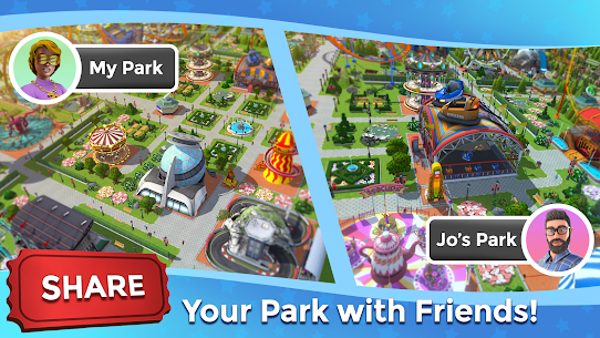 RollerCoaster Tycoon Touch MOD (Unlimited Money) 7