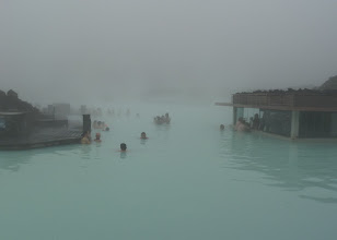 "Photo: On our last day we visited the famous ""Blue Lagoon"".  It was very big and you could  bathe or swim there."