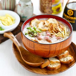 Ham Rice Porridge (Ham Congee) Recipe