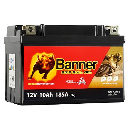 Banner MC batteri 12V/10Ah YTX12-BS