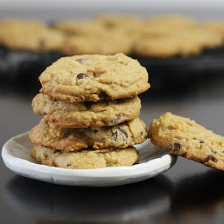 Soft Peanut Butter Chocolate Chip Cookies.