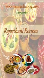 30 Best Rajasthani Recipes screenshot