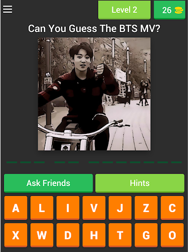 Guess The BTS's MV by JUNGKOOK Pictures Quiz Game 3.4.6z screenshots 11