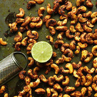 Curry Spiced Cashews