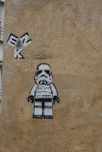 Photo: Street art -EZK- Paris XIIIe -La butte aux cailles