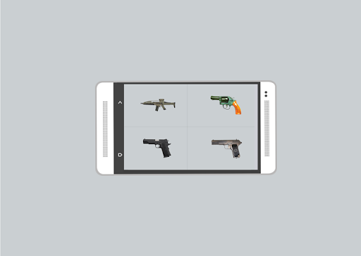 اصوات مسدسات ورشاشات