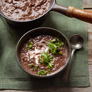 Chili-Lime Black Bean Soup Recipe