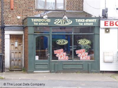 Zafs Tandoori Takeaway On Heslington Road Indian Takeaway