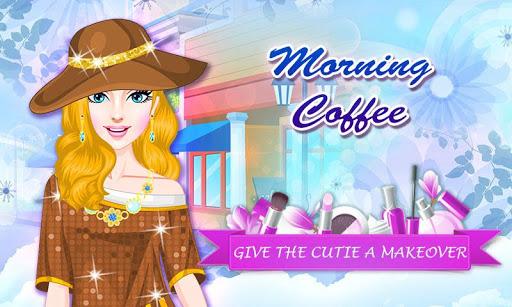 早晨喝咖啡