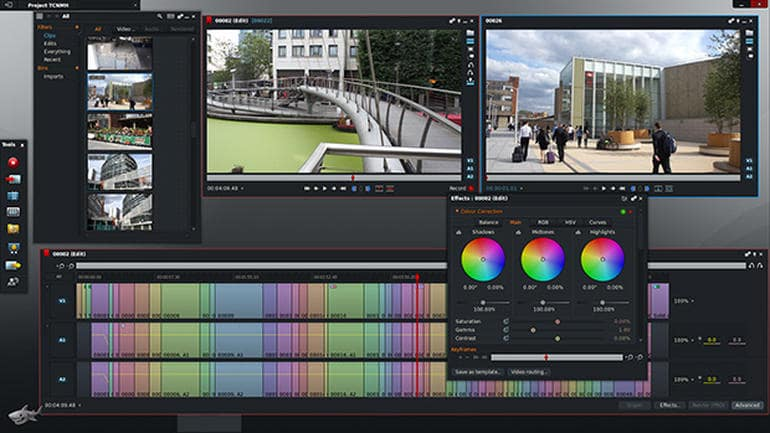 eLearning video production: Lightworks Video Editing Software