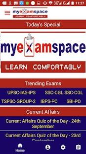 MyExamSpace - náhled