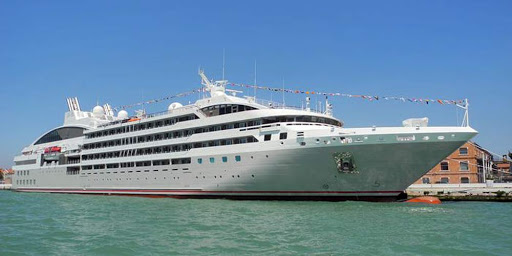 Ponant-Le-Soleal-exterior.jpg - Ponant's luxury expedition ship Le Soleal docked in port.