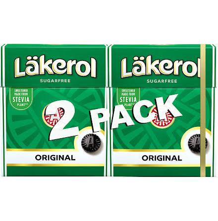 Läkerol original 2-pack