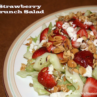 Strawberry Crunch Salad