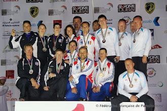 Photo: Voile Contact Séquence à 4, champions du Monde, WPC 2012