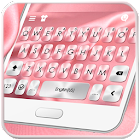Pink Silk Tema de teclado icon