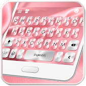 Pink Silk Keyboard Theme