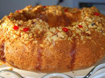 Yummy Butterscotch Rum Cake Recipe
