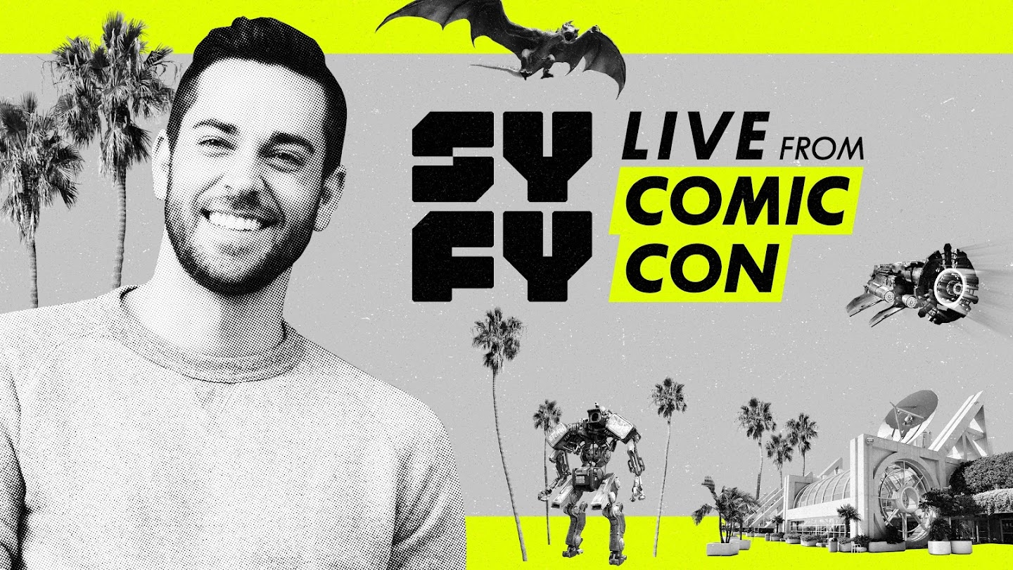 SYFY Live From Comic-Con