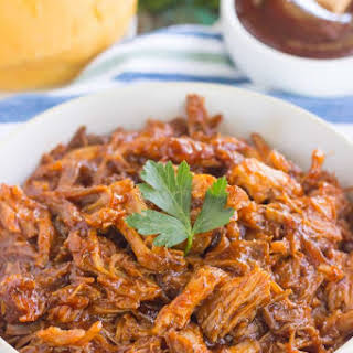 Slow Cooker Barbeque Pulled Pork.