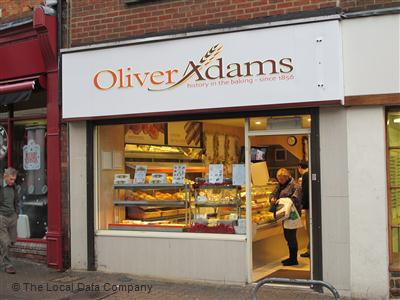 Oliver Adams on Gold Street - Bakers Shops in Kettering NN16