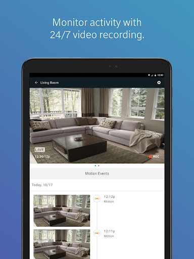 Screenshot for XFINITY Home in United States Play Store