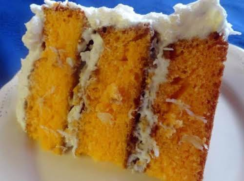 """Orange Dreamsicle Cake """"This cake is so moist. Everytime I take it..."""