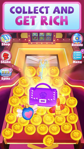 Lucky Coin Dozer - Free Coins 1.1.4 screenshots 1