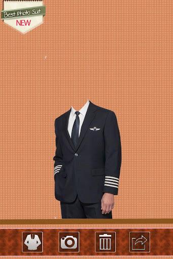 Pilot Man Photo Suit
