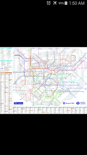 London National Rail Map