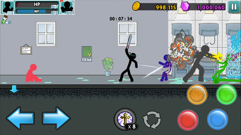 Anger of stick 5 : zombie Screenshot 17