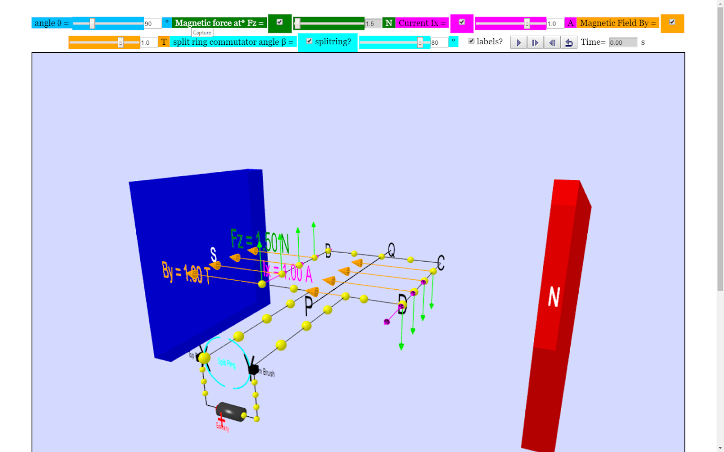 Dc Motor 3d Simulator Lab Android Apps On Google Play
