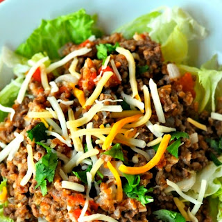 Mexican Beef and Bulgur Salad
