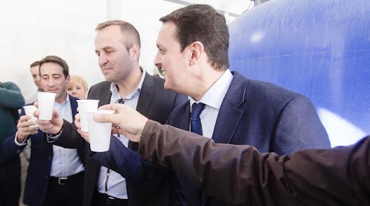 Garcia visita actuaciones de la Diputación en Tabernas y Lubrín