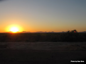 Photo: (Year 3) Day 38 - The Sun Rising Over the Mountains